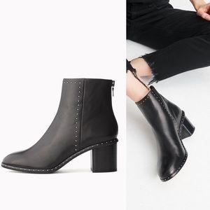 Rag & Bone Willow Stud Boot - Black Leather - 39.5